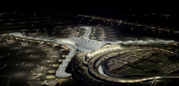 Arquitetura de aeroporto de Abu Dhabi 2