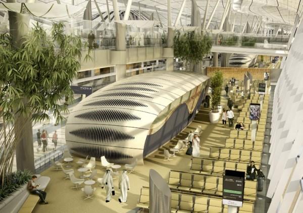 Arquitetura de aeroporto de Abu Dhabi 6