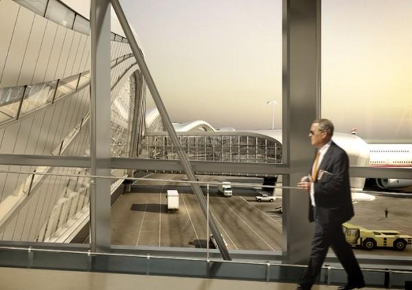 Arquitetura de aeroporto de Abu Dhabi 7