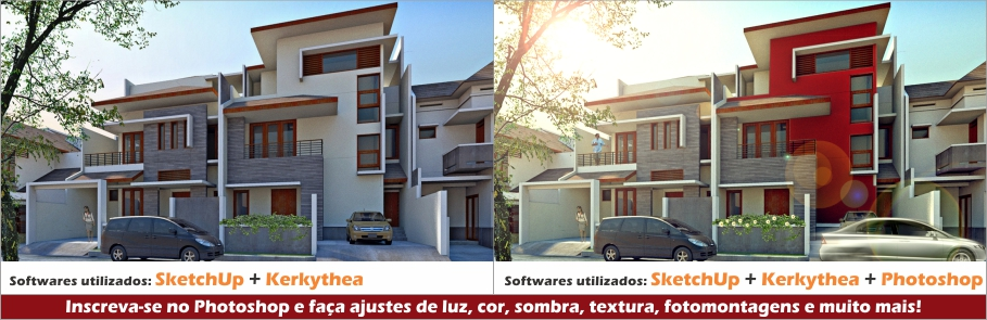 comparativo-sketchup-kerkythea-photoshop