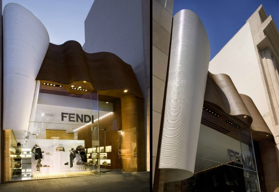 Arquitetura loja Fendi_2