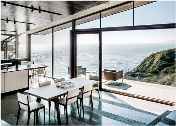 casa sustent vel ancorada na encosta de um penhasco. Black Bedroom Furniture Sets. Home Design Ideas