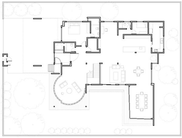 Arquiteto Projeta Sala Circular Com Paredes Deslizantes